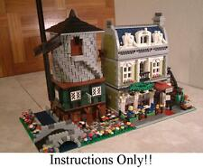 GET 100+ CUSTOM LEGO INSTRUCTIONS like AMAZING MEDIEVAL WINDMILL for Lego 10185