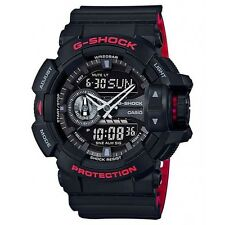 Brand New Casio G-Shock GA400HR-1A Rotary Black/Red Ana-Digi Men's Watch NWT!!!!