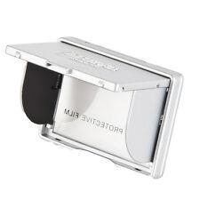 """Delkin de 3.0 """"cámara digital emergente Pantalla Lcd Parasol Capucha Y Protector-Plata"""