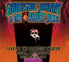 Southside Johnny & The Asbury Jukes - Live! At The Paradise Theater CD BRAND NEW