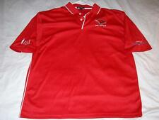 UIW Incarnate Word Cardinals Red Sponsored Swing-In Golf Polo Shirt Mens XL used
