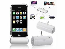 Portable Twin Speaker 3.5mm For All Smartphone Moblie Phone MP3, iPad, iPhone +