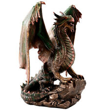 Bronzage Dragon home decor sculpture statue figure