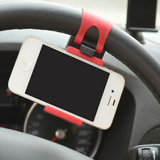 Sale Car Steering Wheel Mount Holder Rubber Band For iPhone iPod MP4 GPS keeper