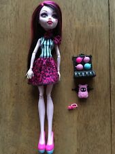 Collector Owned Monster High Scarnival Draculaura Doll Complete