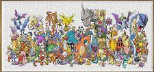 Pokémon Anime Puzzles Jigsaw 1008 Piece Pikachu Pokemon Monster NEW Panorama