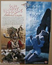 1996 Sell-Sheet: PFG's Guardians Series & Ravenloft Series Advertisement
