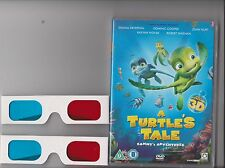 A TURTLE'S TALE SAMMY'S ADVENTURES DVD 2D / 3D INCLUDES PAIR OF 3D CARD GLASSES