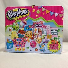 Shopkins Top Trumps Collectors Tin Who's The Super Shopper Card Game And Figures
