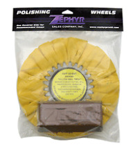 Zephyr Yellow Airway Buffing Wheel and Tripoli Rouge Polishing Kit