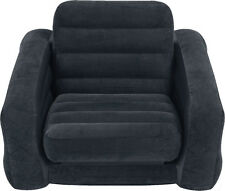 Intex Inflatable Twin PULL-OUT CHAIR, Vinyl Large CHAIR & BED, 68565EP