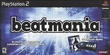 Beatmania (Sony PlayStation 2, 2006) Disc and Manual ONLY. Clean. Tested