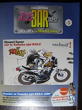 FASCICULE SERIE 2 JOE BAR TEAM 5 YAMAHA 350 RDLC / YZF R6