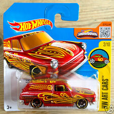 Hot Wheels Custom '69 Volkswagen Squareback Type 3 1600TL Station Wagon - red