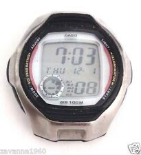 Rare CASIO Collection Vintage Wristwatch W-751 Sport 100ATM Stainless Steel Back