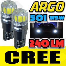 1 SERIES E81 E87 04-11 BRIGHT CANBUS LED NUMBER PLATE 501 W5W CREE WHITE BULBS