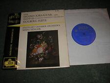 """GRIEG SIGURD JORSALFAR ORCHESTRAL SUITE  & HOLBERG SUITE 10"""" LP DECCA BR 3039"""