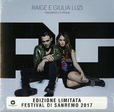 """RAIGE & GIULIA LUZI TOGLIAMOCI LA VOGLIA VINILE 7"""" COLORATO (GIALLO) NUOVO!"""