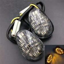 Clear Euro LED Flush Mount Turn Signal for Yamaha YZF R1 R6 R6S 2006 2007 2008