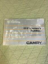 93 1993 Toyota Camry Owners Manual Guide Handbook Owner
