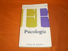 psicologia enciclopedia fisher feltrinelli bross. cucita