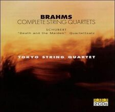 BRAHMS / SCHUBERT TOKYO STRING-Brahms: Complete String Quarte CD NEW