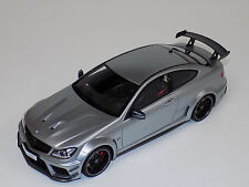 1/18 GT Spirit Street Mercedes Benz C63 AMG Black Series in Matte Silver GT731