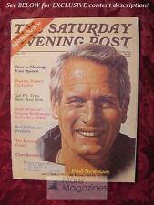 Saturday Evening POST October 1977 PAUL NEWMAN URI GELLER MSTISLAV ROSTROPOVICH