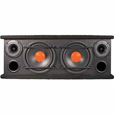 "DOUBLE DUAL Speaker Box 6.5"" Mid Range TWEETER CAR AUDIO 300w INTEGRATO affare!"