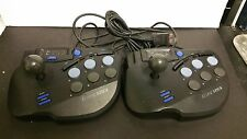 2 Eclipse Arcade Joystick Joy Stick Controllers for Sega Saturn (Works Great)