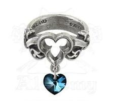 The Dogaressa's Last Love Ring - Size Q - Alchemy Gothic Heart Jewellery R199