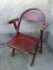 ancien fauteuil pliant michael THONET B751 ? folding chair ARMCHAIR deco chaise