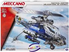 MECCANO MAKER SYSTEM TACTICAL COPTER - HELICOPTER NEW 2 IN 1 NEW # 15302