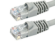 CAT6 Network Cable 1ft foot Gray LAN Ethernet Cable RJ45 Patch Cord USA
