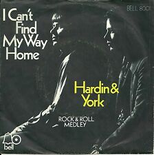 "Hardin & York - I can`t find my way home (1970)  GERMANY 7"" (orig)"