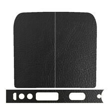 Skin Wrap For YiHi SX MINI M Class Cover Decal Vape Sticker - BLACK LEATHER