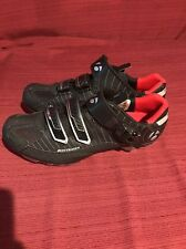 BONTRAGER INFORM 13 BIKE SHOES CYCLING GENTLY USED LOOK FAST SHIP