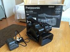Panasonic HC-X1000 4K Professional Camcorder  34hrs Used          MintCondition