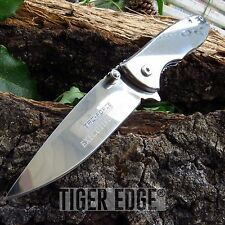 "NEW! 6.75"" Tac-Force Executive Mirror Finish Blade Spring-Assisted Folding Knife"