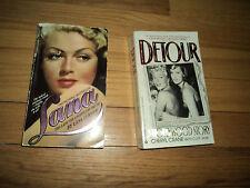 PB235 2 Lana Turner Biographies Lady Legend Truth & Detour Daughter Cheryl Crane