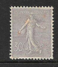 FRANCE 1902 30c lilac Sower with ground very fine MINT SG 319 Cat £350
