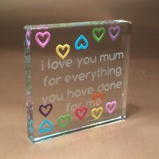 Spaceform Multi Hearts Mum Token Gift ideas for Her Mother Mom Mothers Day 1746