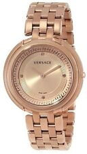 Versace Women's VA7050013 Thea Rose Gold Ion-Plated Stainless Steel Sunray Watch