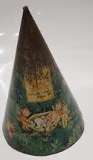 Rare 1930's Mabel Lucie Attwell Fairy Tree Biscuit Tin Plate Money Box