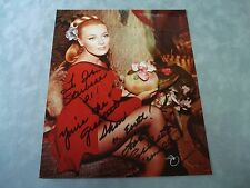 AUTHENTIC **CELESTE YARNALL SIGNED 8X10  PHOTO** W/ COA