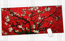 Cherry blossom  Mouse Pad  Big pc pad Long Large Gamer anti-slip cloth 895*395mm