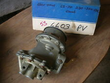 Chevy GMC truck fuel pump dual stage 1963 1964 1965 1966 1967 1968 1969
