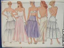 HTF BUTTERICK 4407 Ms Flared/Straight Petticoats & Half Slips PATTERN 8-10-12 UC