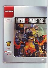 MECHWARRIOR 3 - MECH WARRIOR PC GAME - FAST POST - COMPLETE RARE BIG BOX - VGC
