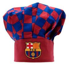 Official licensed football club fc barcelone chefs chapeau cook crest cadeau fun neuf